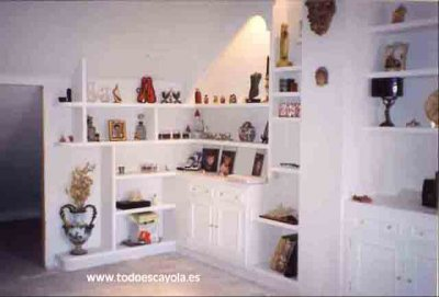 Librer as y estanterias de escayola valencia 21807 - Estanterias de escayola ...